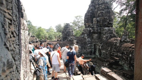 Tourisme Cambodge attend Pchum Ben